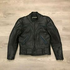 Genuine Suzuki Motor Corporation Mens Motorcyle Leather Biker Jacket Size 40