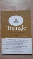 Triangolo - Giornale Sandoz Delle Sciences Vista - Volume VIII N°1 - Mars 1968