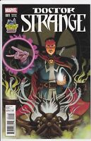 Doctor Strange #1 Midtown Comics Variant Johnson Cover NM Marvel 2015 Dr Strange