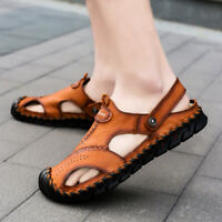 Outdoor Moccasin Chic Hollow Out Men Casual Slipper Beach Sandal Slingback Shoes