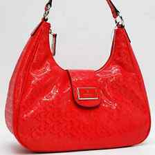 GUESS AUTHENTIC ELLACRUZ SIGNATURE ROSY HOBO BAG HANDBAG PURSE NWT