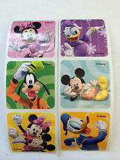 20 Disney Mickey Minnie Mouse Stickers Party Favors  Teacher Supply Goofy Pluto