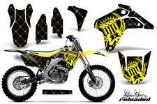 Suzuki RMZ 450 Graphic Kit AMR MX Racing # Plates Decal Sticker Part 05-06 RL BY