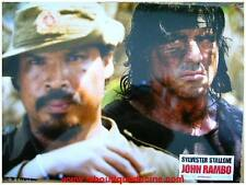 JOHN RAMBO RAMBO 4 IV 8 Photos Cinéma / Lobby Cards SYLVESTER STALLONE