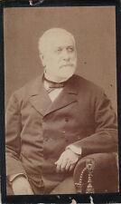 Photo carte de visite : A.Lumière ; Le Comte de Charrin , vers 1880