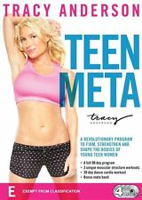 Tracy Anderson: Teen Meta DVD [New/Sealed]
