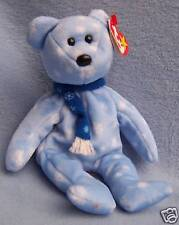1999 Winter TY BEANIE BABY 9in HOLIDAY TEDDY Christmas