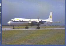 Air UKRAINE Postcard IL-18V
