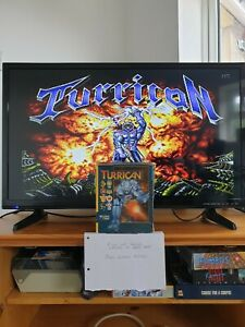 Turrican Commodore Amiga - Boxed & Complete.  Tested & Working