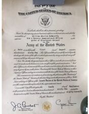 More details for ww2 & korea officer casualty, us army mp - medal document group
