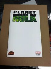 Secret Wars:Planet Hulk #1 blank sketch variant.First printing.
