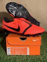 New Nike Phantom Venom Pro FG Soccer Crimson Red AO8738 600 Elite Mens Sz 7.5