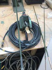 utilisé Militaire Co-Ax Câble, C type M>FM + Ananas Complet Antenne