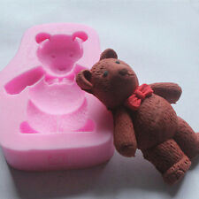 Silicone Cake Fondant Mould Chocolate Baking Mold 3D Teddy Bear Shape