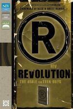 Zondervan NIV; Revolution Bible for Teen Guys; 2012; Saddle Brown Leather