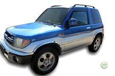 MITSUBISHI PAJERO PININ 3 PORTE 1998-2007 serie di deflettori vento anteriore 2pc HEKO
