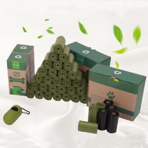 Biodegradable Dog Waste Bag Pet Poop   120/240 Premium Eco Dog Puppy Poo Bags
