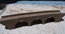 MODEL BRIDGE THREE ARCH STONE BRIDGE N GAUGE BRIDGE N SCALE  LASER ENGRAVED