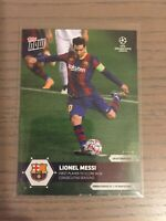 2020 UCL Topps Now UEFA Champions League Lionel Messi #1 FC Barcelona