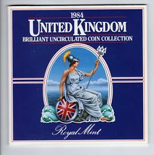 1984 UK Brilliant Uncirculated Coin Collection