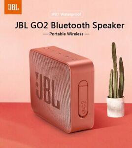 JBL GO 2 Portable Waterproof IPX7 Wireless Bluetooth Mini Speaker with Mic