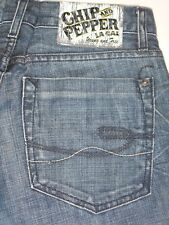 Chip Pepper Jeans Mens Bobby Baby Low Boot Distressed 29 x 30
