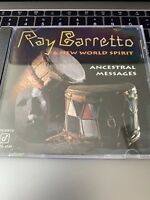 RAY BARRETTO & NEW WORLD SPIRIT - Ancestral Messages - CD - **Excellent**