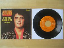 Elvis 45rpm record & Picture Sleeve, Help Me/If You Talk In Your Sleep, 1974