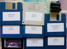 Mémoire 256 Ko pour thomson TO8 / TO8D + 20 disquettes.