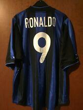 Maglia Shirt Maillot Trikot Maglietta Inter Ronaldo 00 01 Home Brasile Brazil