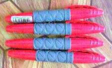 4 BIC Permanent Markers Grip Pocket - Red Only