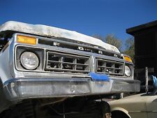1977 Ford used F150 F250 Truck Front Grille with bumper chrome NOT PERFECT