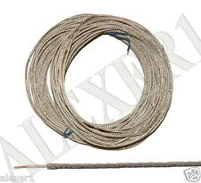 20m / 65 ft 0.12mm² / 26 AWG Military USSR Shielded Teflon PTFE Wire MGTFE