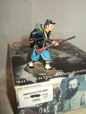 King & Country CW33 AMERICAN CIVIL WAR UNION Carabinier Stands à charge échelle 1:30