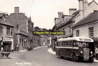 rp12926 - Bus to Newton Abbot , Bovey Tracey , Devon  - photograph 6x4