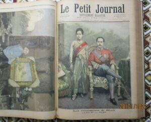 Le petit journal années complètes reliée 1893 & 1894 soit 104 n°