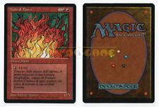 MTG MAGIC - Muro di Fuoco - Wall of Fire - 1ª Ed Ita Revised FBB 1994 - OTTIMA