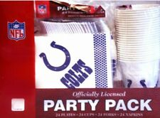 NFL Indianapolis Colts [Plates, Cups, Forks & Napkins] Party Pack