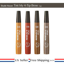 Etude House Tint My 4-Tip Brow 2g Eyebrow Tattoo Pen Pencil Marker Gel 4Color US