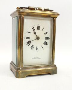 Vintage French Made W.HIRD Barrow-In-Furniss Mechanical CLOCK  - W16