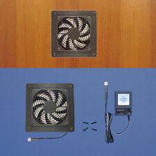 Mega-fan Enclosed Cabinet AV Cooling fan / multi-speed control /Home Theater