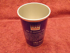 1960's New Hamms Aluminum Figge Signature Punch Flat Top Drinking Cup Beer Can