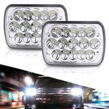 Pair DOT 7X6 5X7 INCH Sealed Beam Hi / Low Beam Headlights Light Bulbs 2B1 H6054