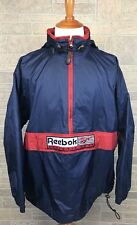 Vintage Reebok Athletic Gear Windbreaker Big Spellout Logo High Quality Size L