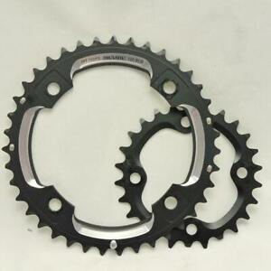SRAM Truvativ Xo 39/26 Teeth Aluminium Sprocket Set Bolt Circle 120/80 Black -