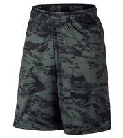 9abaec16 NWT Nike DRI-FIT Training Shorts Men's DRY Marble Basketball Black Swoosh  860575