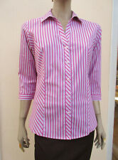 M&S Collection - Womens Pink Mix 3/4 Sleeve Blouse - size 18