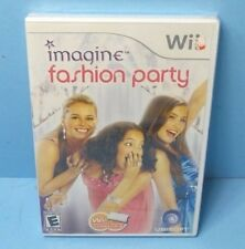 Imagine: Fashion Party (Nintendo Wii, 2009) BRAND NEW FACTORY SEALED