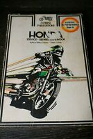Vintage Honda Motorcycle Service Repair Handbook 450 500cc Twins 1965-1976