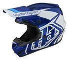Troy Lee Designs GP Overload MX Offroad Helmet Blue/White